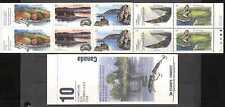 Canada 1992 Rivers/Cascade/oiseau/POISSON/Bateau Bklt n27054
