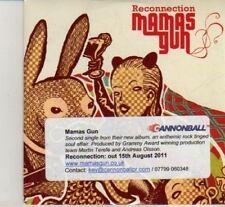 (DI1000) Mamas Gun, Reconnection - 2011 DJ CD