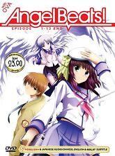 DVD Angel Beats Episode 1-13end + OVA Anime Boxset English Dubbed