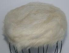 Vintage fur Pillbox Hat