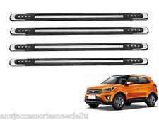 Car Black Dotted Bumper Protector Guard Designer 4Pcs Hyundai Creta