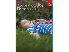 Adobe Photoshop Elements 2018 - Mac & Windows