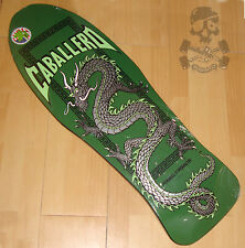 POWELL PERALTA - Steve Caballero - Skateboard Deck -  Chinese Dragon - Green