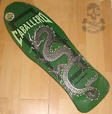 POWELL PERALTA - Steve Caballero - Skateboard Deck -  Chinese Dragon - Green