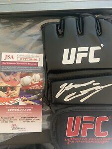 Nate Diaz Autographed Signed UFC Glove JSA COA Stockton