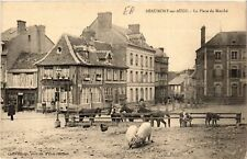 CPA  Beaumont-en-Auge - La Place du Marché   (516815)