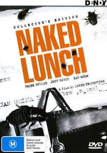 Peter Weller Judy Davis NAKED LUNCH - COLLECTOR'S EDITION DVD