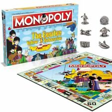 BEATLES Monopoly Yellow Submarine 50th Anniversary OFFICIAL MERCHANDISE