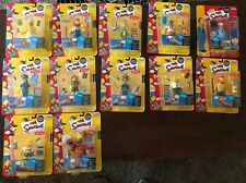 The Simpsons Lot of 12 World Of Springfield Figures by Playmates - Homer Simpson
