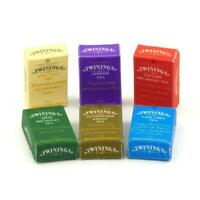 Dolls House Miniature Set Of 6 Twinings Assorted Tea Boxes