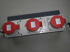 MENNEKES Steckdosenleiste 96705 RS - 3x CEE 16A - 2x Anschlußkabel 2,4 m (R3A3)