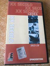Vhs XX Secolo Gedea 1915 - 19 Dal 1900 al nuovo millennio