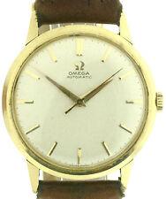 Omega Automatik Vintage Herrenuhr in 585/14k Gold, Kal. 552, 34,5mm Durchmesser