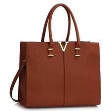 Women's Large V Tote Handbags Shoulder Bag For Women Work School Work College A4