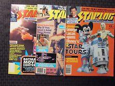 1984 STARLOG Magazine #88 118 136 FN+/FVF LOT of 3 Star Wars Conan Alien Nation
