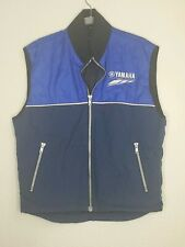 Vintage Yamaha Factory Racing Vest Coat Jacket Snowmobile Motocross Motorcycle S