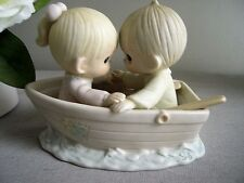 "Precious Moments Ceramic ""Friends Never Drift Apart"""