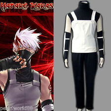 Naruto Hatake Kakashi anbu 1st Men's Cosplay Costume set