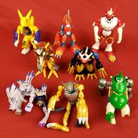 Vintage Large Digimon Figures Lot for Parts Repair or Customizing