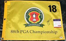 Zach Johnson 2006 PGA Championship MEDINAH GOLF FLAG AUTOGRAPHED SIGNED PSA/DNA