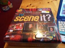 Tv Scene It? Deluxe Edition The Dvd Game New In Sealed Packaging Collectors Tin
