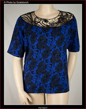 Paisley Short Sleeve Unbranded Regular Tops & Blouses for Women