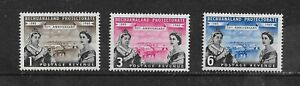 BECHUANALAND 1960 75th ANNIV OF PROTECTORATE SG 154-156 MM MY REF 1448