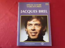 Jacques Brel - Les plus grands Chansons . Songbook Notenbuch Vocal Guitar