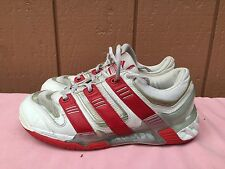 RARE ADIDAS Stabil 6 Men's Squash Tennis Sample 2005 US 8 EUR 40 WHITE RED