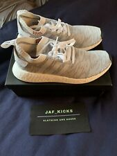 Adidas NMD R2 PK Shoes Size 10.5 Boost Grey White Clay