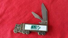 COLONIAL FOLDING KNIFE ADVERTISING SHARKEY TRANSPORTATION QUINCY, ILL