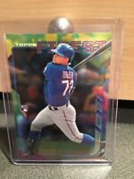 ROUGNED ODOR - RC ROOKIE #40 TEXAS RANGERS - 2014 TOPPS FINEST MLB ROOKIE CARD