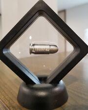 TRUMP Bullet .45 ACP 1 oz 999 Silver 2nd Amendment 1911 Colt Engraved Framed New
