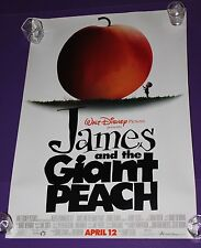 """JAMES AND THE GIANT PEACH MOVIE POSTER 27 x 18 1/2"""""""