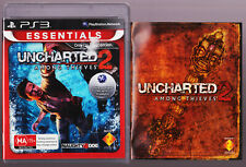 Uncharted 2: Among Thieves WITH MANUAL BOOKLET - PS3 Playstation 3 Game