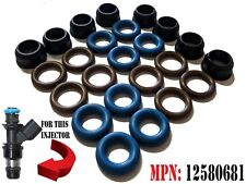 MPN:12580681 Fuel injector Repair Kit Seals/O-rings/Caps for 8 ACDelco Injectors