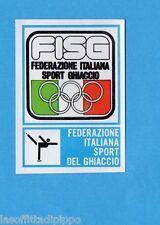 CAMPIONI dello SPORT 1973/74-Figurina n.191- SPORT GHIACCIO - STEMMA -Rec