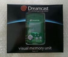 Visual Memory Unit VMU officielle Sega dreamcast verte Neuve