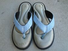 Nike Comfort Footbed Memory Foam Flip Flops Blue Size 8