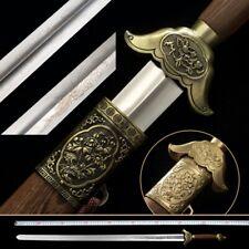 gentleman TaiChi Sword Stainless Steel Ridged/Flat blade Alloy/Brass Optional010