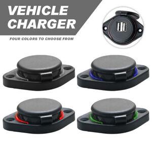 12V/24 Double prise de Charge de Chargeur de Voiture USB pour Moto Automatique