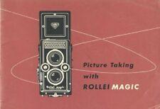 Rollei RolleiMagic Instruction Manual 1960