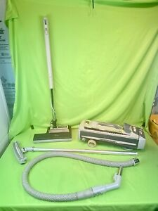 Electrolux Silverado 1505 Canister Vacuum Cleaner w/ PN5 Power Nozzle & Attach..