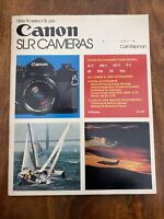 How to Select & Use Canon SLR Cameras - Carl Shipman - Paperback - 1978