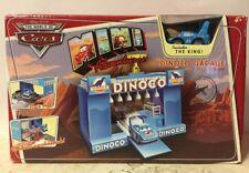Disney Pixar Cars Mini Adventures DINOCO GARAGE Playset - Includes THE KING!