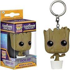 Baby Groot Keychain Funko Pocket Pop Keyring Guardians of The Galaxy Vol2 GOTG