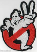 Ghostbusters ecusson brodé logo No ghost n° 2 Ghostbusters logo patch