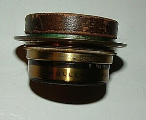 Wollensack 6.5 x 8.5 Symmetrical Wide Angle Camera Lens with 1 Cover