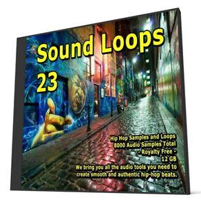 Hip Hop WAV Collection 8000 Music Samples Packs Audio Loops FL Studio Ableton