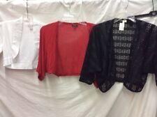 TALBOTS, SIZE SMALL/0 JACKET/VEST COVER UPS, SET OF 3 USED